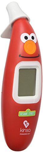 Kinsa Sesame Street - Digital Smart Ear Thermometer