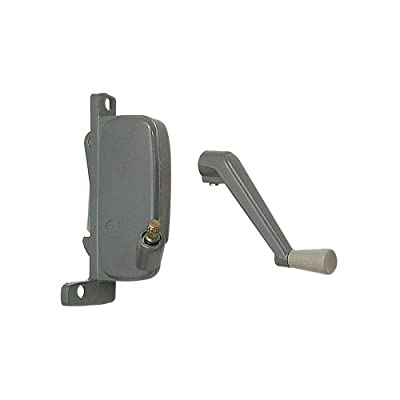Prime-Line Products H 3666 Awning Window Operator, Right Hand, Aluminum Finish, Miami