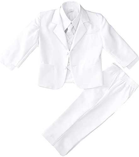 Boys Toddlers and Infants White Suit Size 2T (Suit Black White Pinstripe And)