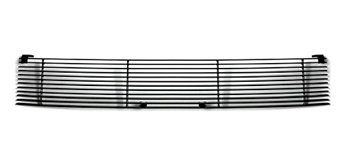 2006 Scion Xb Grille (03-07 Scion XB Replacement Upper 1PC Horizontal Black Billet Polished Aluminum Grille Grill Insert)