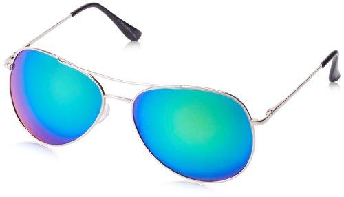 MLC Eyewear Stylish Revo Aviator Sunglasses,Silver,58 - 2014 Stylish Sunglasses