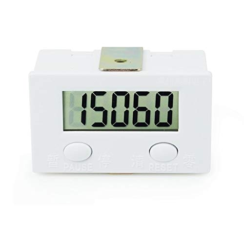 Counter 5 Digital Display Counter Kits Magnetic Sensor Switch Micro Switch Push Button Switch Limit Switch with 2 Meters Wire  (color  Kits B)
