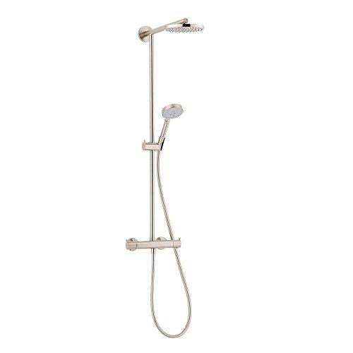 Hansgrohe 27165821 Raindance Showerpipe, Brushed Nickel