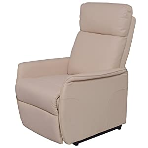 Giantex PU Electric Lift Chair Power Recliner Reclining Sofa Lounge W/Remote Controller