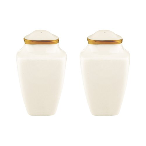 Lenox Eternal Square Salt and Pepper Set, Ivory