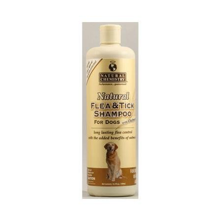 Natural Chemistry Natural Flea & Tick Shampoo With Oatmeal For Dogs 16.9oz