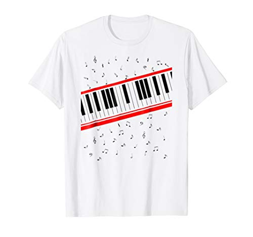Beat It Piano Keyboard Tshirt -
