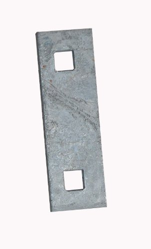 Dock Edge + Inc. Galvanized Heavy Duty 9/16-Inch Square Hole Floating Dock Washer Plate