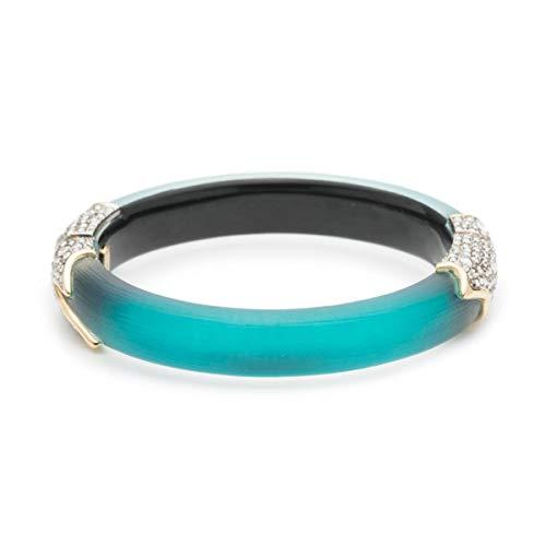 Alexis Bittar Women's Crystal Encrusted Feather Hinge Bracelet