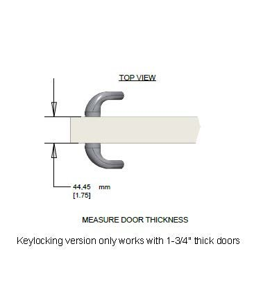 Amazon.com Sonoma Keylocking Sliding Door Handle with Center Keylock fits 1-3/4  thick doors only with 3 hole bore and 3-15/16  ScrewholesDurable hardware ...  sc 1 st  Amazon.com & Amazon.com: Sonoma Keylocking Sliding Door Handle with Center ...
