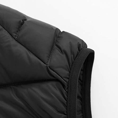 Montant Black Duvet Col En color Xxl Vêtements Blue Hommes Coton Size Gilets Pour Capuchon Hiver Chaude Veste Imprimé À Z4pxx7qw5