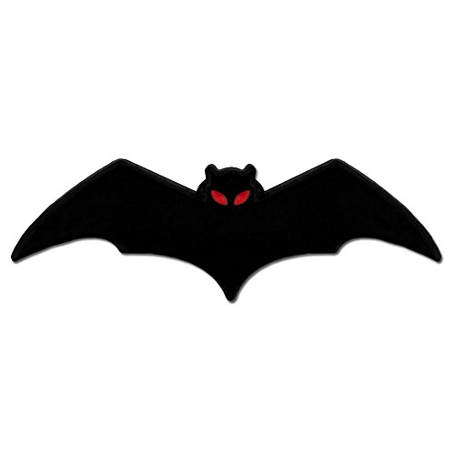 PinMart Small Black Bat Animal Halloween Enamel Lapel Pin]()