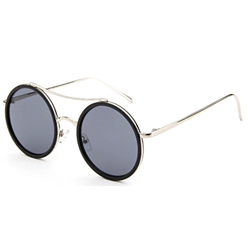 Sinkfish SG80012 Sunglasses for Women,Anti-UV & Fashion - UV400/Azure Frames/Dimgray - Sunglasses Uv400 Sports Ozzie
