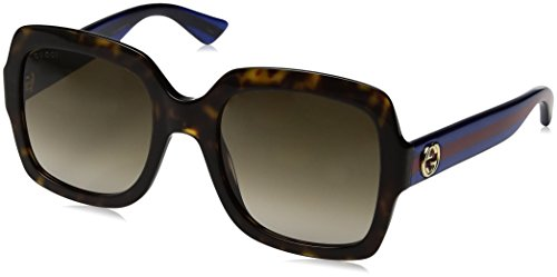 Gucci Women GG0036S 54 Tortoise/Brown Sunglasses - Glasses Gucci Women