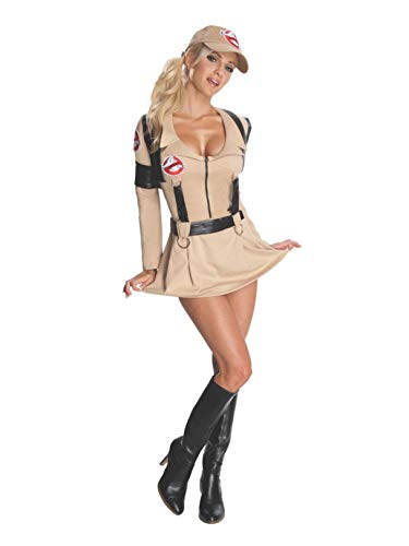 Rubie's Ghostbusters Secret Wishes Sexy Costume,Tan,X-Small