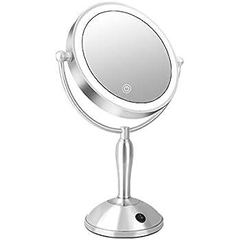 Amazon Com Dorafair Lighted Makeup Mirror 10x