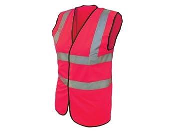 Scan WWHVWMP Hi-Vis Waistcoat ,Pink, Medium