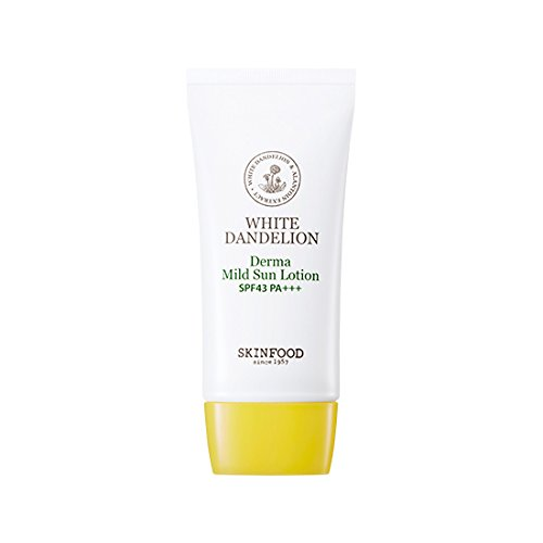 [Skin Food] White Dandelion Derma Mild Sun Lotion SPF43 PA+++ 50g