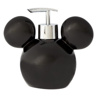 Disney Mickey Mouse Soap / Lotion Pump Dispenser (Mickey And Minnie Bathroom Set)