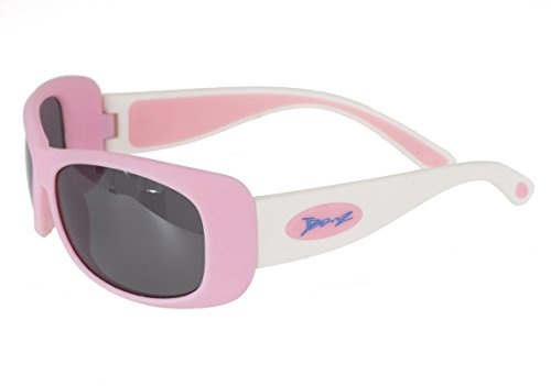 Baby BanZ: FlexerZ: Pink/White | 100% UV Protection | Age: 4-10 - Banz Ray