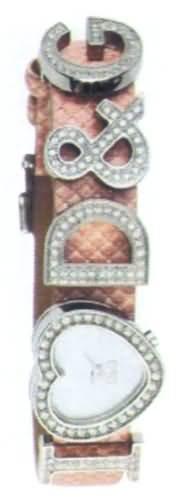 D&G Dolce&Gabbana d&g i love d&g extension – Reloj analógico de mujer de cuarzo con correa de piel rosa – sumergible a 30 metros