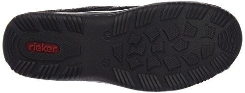 Rieker L0555 Dames Klompen Zwart (zwart / Zwart / Zwart / 00)