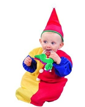 RG Costumes Clown Baby Bunting Costume