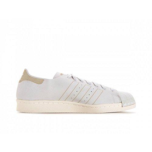 adidas Herren Superstar 80s Decon Gymnastikschuhe Elfenbein (Ftwr White/ftwr White/brown)