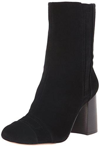 Nine West mujer Deliah Suede Boot Black