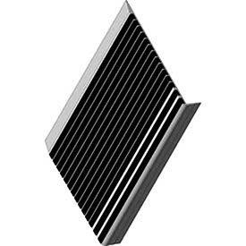 "Babcock-Davis Stair Tread With Bar Abrasive Bstrb-A9d-72, 72""W X 9""D, Extruded Aluminum"
