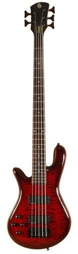 Spector LG5CLSBCLH Legend5 Classic Black Cherry Gloss Bass Guitar - Left-handed 5 String Bass Cherry