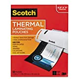 3M TP3854-50 Scotch Thermal Laminating Pouch - Letter - 8.50 inch Width x 11 inch Length9 inch x 11.5 inch Overall Size - 50 / Pack - Clear