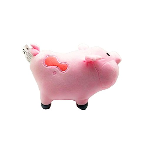 """Gravity Falls Waddles Pig Mabel Barfing Gnome Plushes Dolls Kids Toy 8/"""" with Tag"""