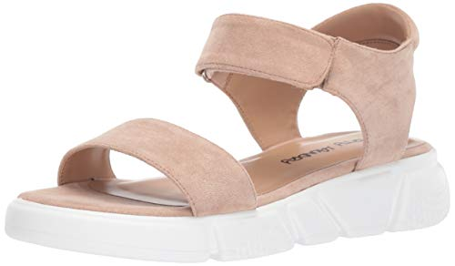 Dirty Laundry by Chinese Laundry Women's Ashville Sandal, Blush Suede, 7 M US