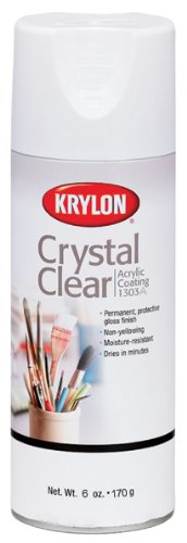 Krylon 6-Ounce Crystal Clear Acrylic Coating Aerosol Spray (Acrylic Sealer Krylon compare prices)
