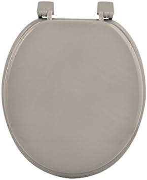 Douceur dInt/érieur 6STO085BL Siege de Toilette MDF Bleu Oc/éan 47 x 37 x 5 cm