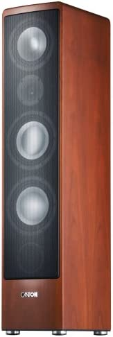 Canton Ergo 690 Dc 3 Way Bass Reflex Floor Speaker 170 320 Watt Bi Wiring Bi Amping Connection Panel Cherry Pack Of 1 Mp3 Hifi