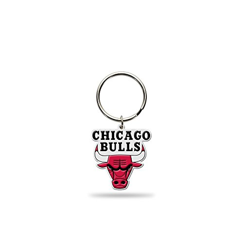 Rico Industries NBA Chicago Bulls Flexible Team Logo Keychain
