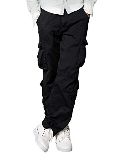 Lightweight Utility Black Belt - Match Men's Wild Cargo Pants(Dark Gray,32)