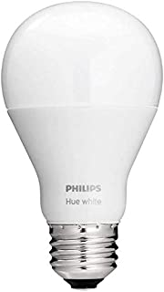 Philips Hue White A19 Single LED Smart Bulb Works with Amazon Alexa (Hue Hub Required, Works with Alexa, Homekit & Google Assistant), Old Version (B016AEHUQ6)   Amazon price tracker / tracking, Amazon price history charts, Amazon price watches, Amazon price drop alerts