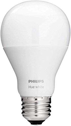 Philips Hue White A19 Single LED Bulb Works with Amazon Alexa (Hue Hub Required)