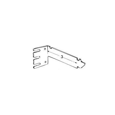 Graber 3 Inch Extended Curtain Rod Valance Brackets White 1 Pair New Ebay