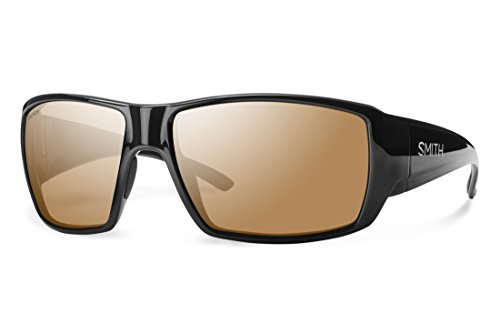 Smith Optics Guides Choice Sunglasses, Black Frame, Polarchromic Copper Mirror Techlite Glass - Lens Copper
