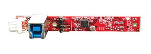 Ableconn IUSB3SAOD SATA Slimline Optical Drive (ODD) to USB 3.0 Type-B (F) Mini Vertical Adapter Board - Convert a Slim SATA Optical Drive to a USB 3.0 ODD Drive by Ableconn (Image #2)