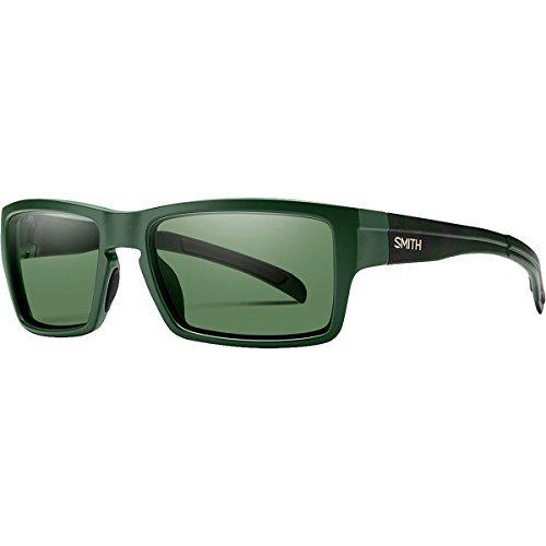 Smith Outlier ChromaPop Sunglasses - Polarized Matte Olive Camo/Polarized Gray Green, One - Smith Case Sunglass Optics