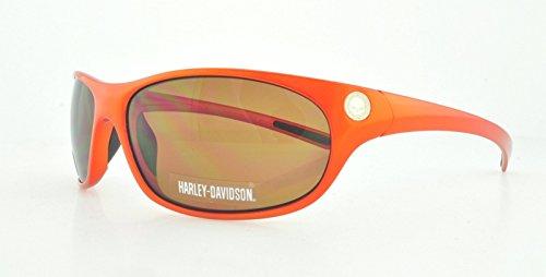 HARLEY DAVIDSON Sunglasses HDX 824 Shiny Orange 65MM