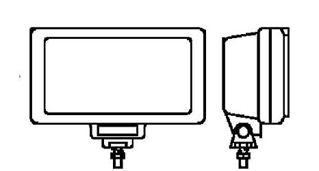 HELLA 1FE 006 300-041 Fernscheinwerfer Jumbo 220 Anbau links//rechts h/ängend//stehend 12//24 V Halogen