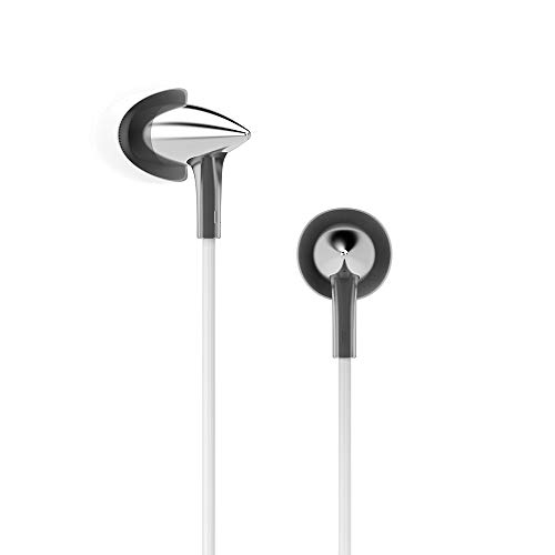 Festnight UiiSii Hi705 Metal Headphones Stereo Bass Earphone Sport Headset in-Ear Sound Insulation 3.5mm Wired for iPhone Xiaomi Android MP3 PC