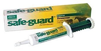 Safe-Guard Horse Wormer - Fenbendazole - 25 gram Paste (Pack of 2)