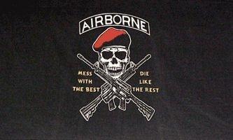 ARMY AIRBORNE FLAG - Airborne Flag